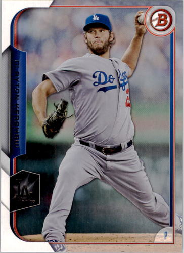 Photo of 2015 Bowman #1 Clayton Kershaw