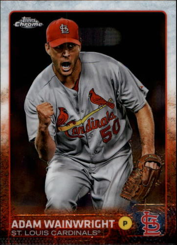 Photo of 2015 Topps Chrome #82 Adam Wainwright