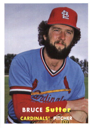 Photo of 2015 Topps Archives #58 Bruce Sutter