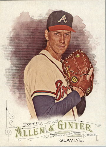 Photo of 2016 Topps Allen and Ginter #9 Tom Glavine