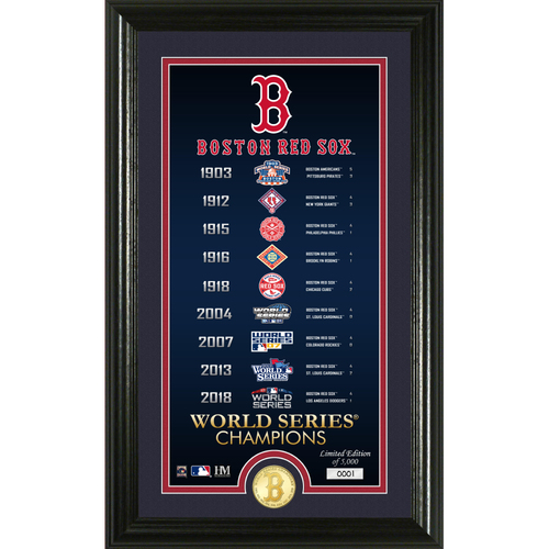 "Photo of Boston Red Sox ""Legacy"" Supreme Bronze Coin Photo Mint"