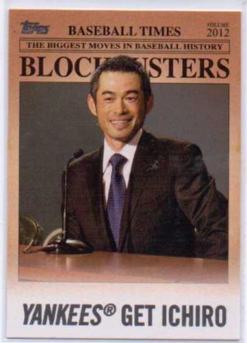 Photo of 2012 Topps Update Blockbusters #BB23 Ichiro Suzuki