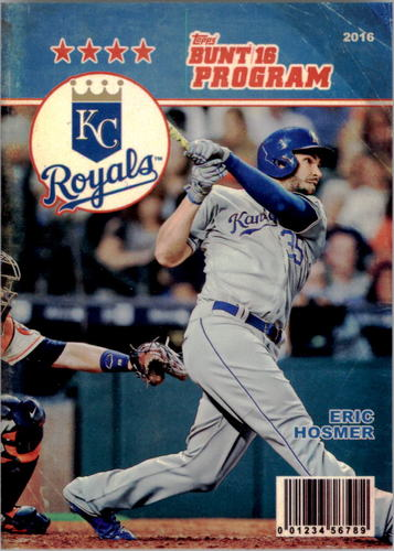Photo of 2016 Topps Bunt Programs #P1 Eric Hosmer