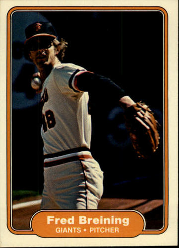 Photo of 1982 Fleer #385 Fred Breining