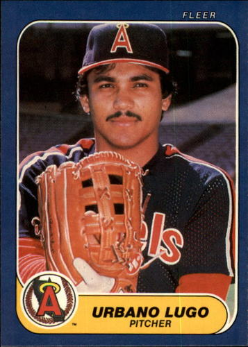 Photo of 1986 Fleer #162 Urbano Lugo