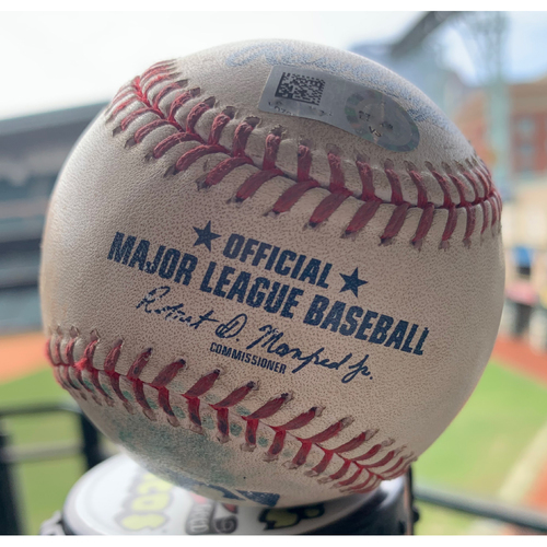 Photo of 2019 Game-Used Baseball  9/5/19 Astros vs. Mariners: Jose Urquidy to Tom Murphy (Single)-Top 7th