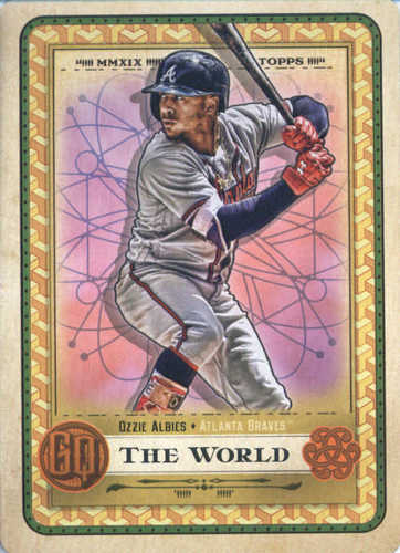 Photo of 2019 Topps Gypsy Queen Tarot of the Diamond #12 Ozzie Albies