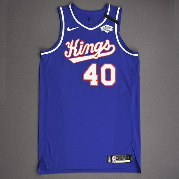 Image of Harrison Barnes - Sacramento Kings - Game-Worn Classic Edition 1990-94 Road Jersey - Scored Game-High 32 Points - 2019-20 NBA Season