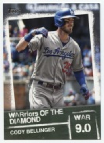 Photo of 2020 Topps Warriors of the Diamond #WOD35 Cody Bellinger