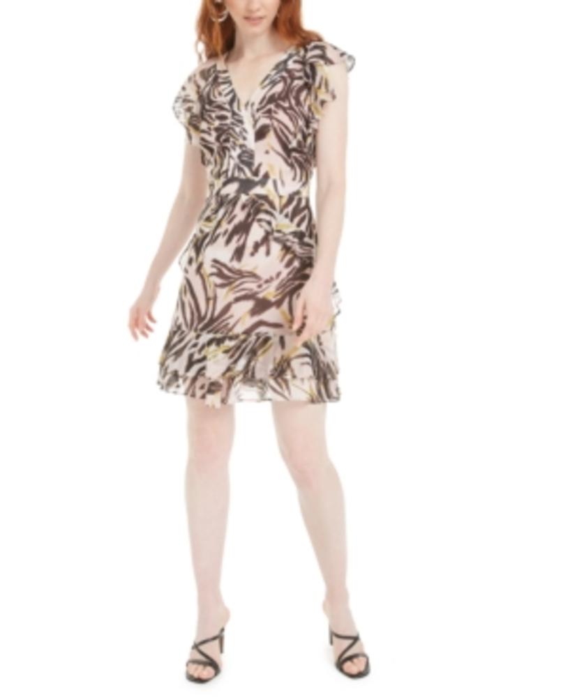 Photo of Bar III Zebra-Print Dress