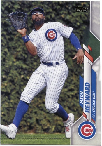 Photo of 2020 Topps #573 Jason Heyward