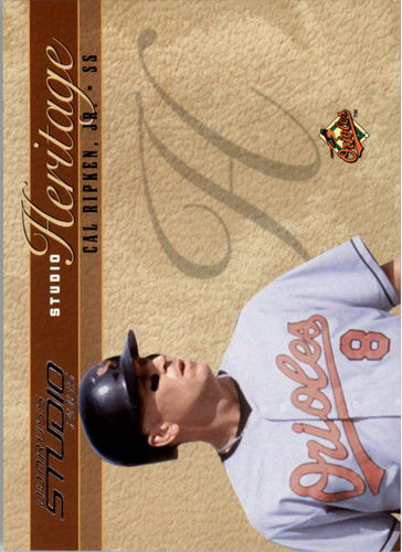 Photo of 2005 Studio Heritage #11 Cal Ripken Orioles #d/1000