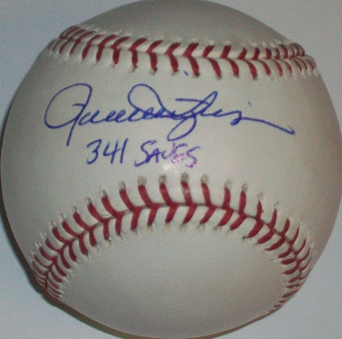 "Photo of Rollie Fingers ""341 Saves"" Autographed Baseball"