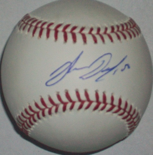 Photo of John Danks Autographed Baseball