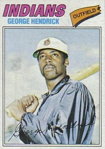 Photo of 1977 Topps #330 George Hendrick