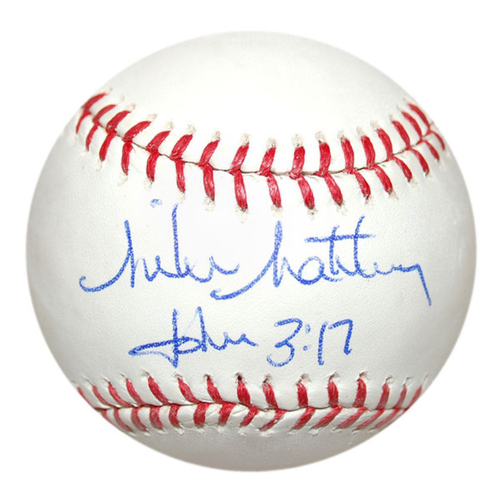 Photo of Cardinals Authentics: Mike Matheny Autographed Baseball