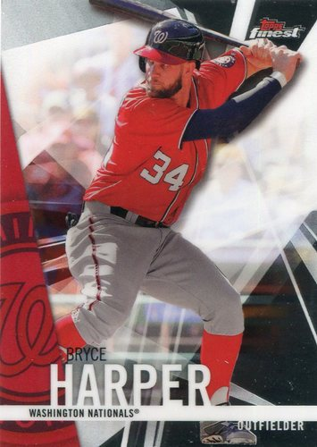 Photo of 2017 Finest #79 Bryce Harper