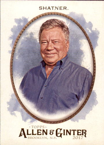 Photo of 2017 Topps Allen and Ginter #246 William Shatner