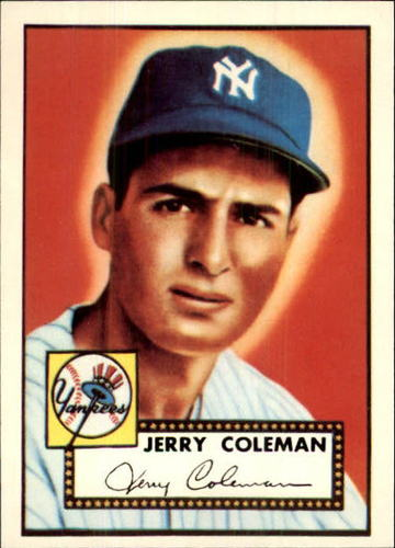 Photo of 1983 Topps 1952 Reprint #237 Jerry Coleman