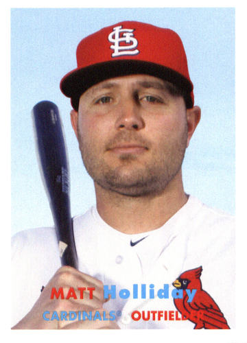 Photo of 2015 Topps Archives #71 Matt Holliday