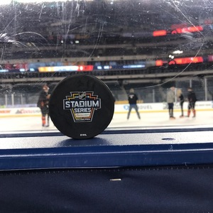047dd32c8 Philadelphia Flyers 2019 NHL Stadium Series Practice-Used Puck - Used  During February 22