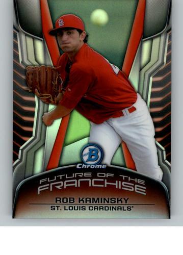 Photo of 2014 Bowman Chrome Draft Future of the Franchise Mini #FFRK Rob Kaminsky