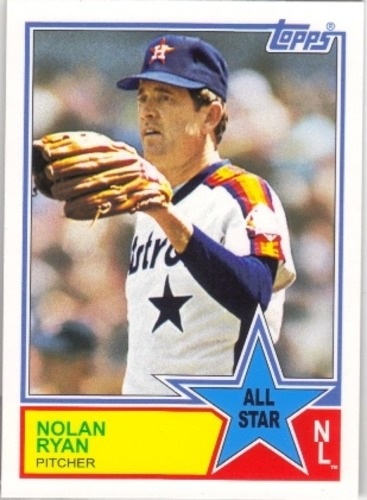 Photo of 2013 Topps Archives 1983 All-Stars #NR Nolan Ryan