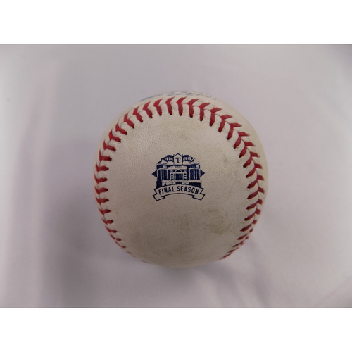 Photo of 2019 Texas Rangers Game-Used Baseball (August) - PRESALE: Choose your Game Date!