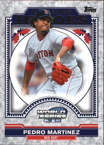 Photo of 2014 Topps Update World Series Heroes #WSHPMA Pedro Martinez