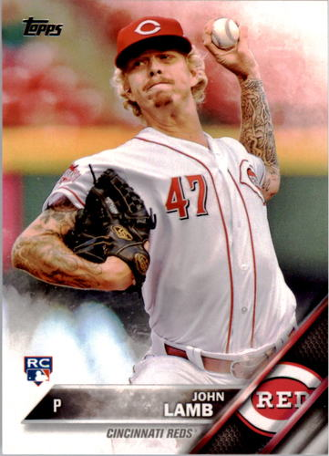 Photo of 2016 Topps #59 John Lamb RC
