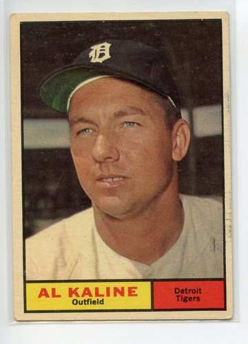 Photo of 1961 Topps #429 Al Kaline