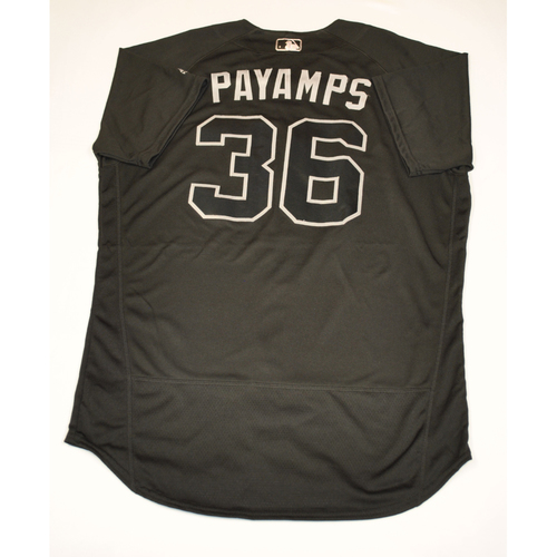 "Photo of Joel ""PAYAMPS"" Payamps Diamondbacks 2019 Game-Used Players' Weekend Jersey"