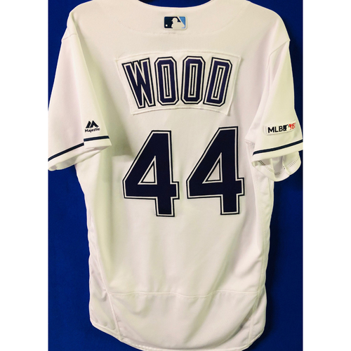 Photo of Game-Used Devil Rays Jersey: Hunter Wood (size 40) - April 20, 2019 v BOS