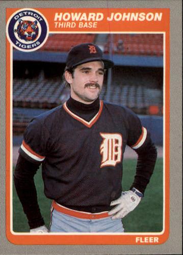 Photo of 1985 Fleer #12 Howard Johnson