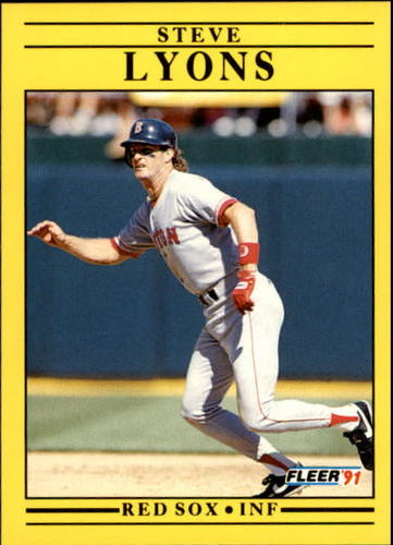 Photo of 1991 Fleer Update #6 Steve Lyons