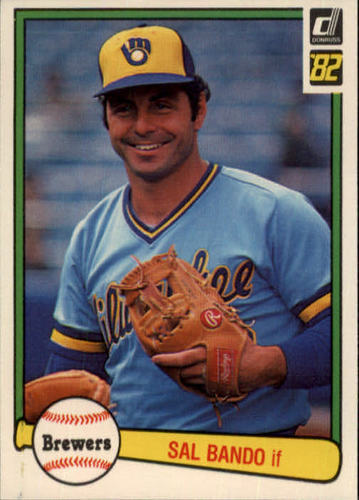 Photo of 1982 Donruss #592 Sal Bando