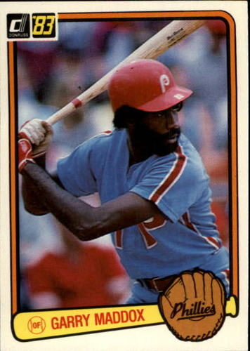 Photo of 1983 Donruss #63 Garry Maddox