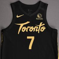 Kyle Lowry - Toronto Raptors - Christmas Day' 19 - Game-Worn City Edition Jersey
