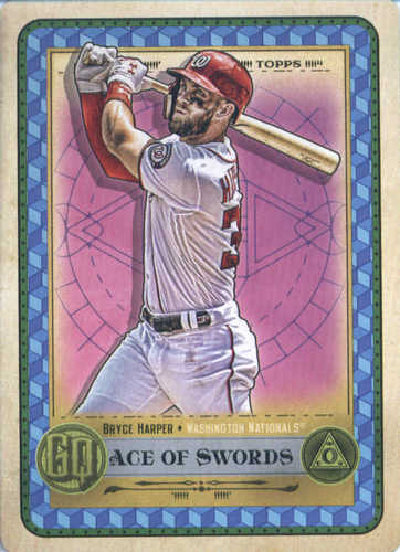 Photo of 2019 Topps Gypsy Queen Tarot of the Diamond #14 Bryce Harper