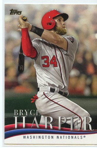 Photo of 2018 Topps Update Bryce Harper Highlights #BH10 Bryce Harper