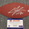 Texans - Andre Johnson Signed Authentic Panel