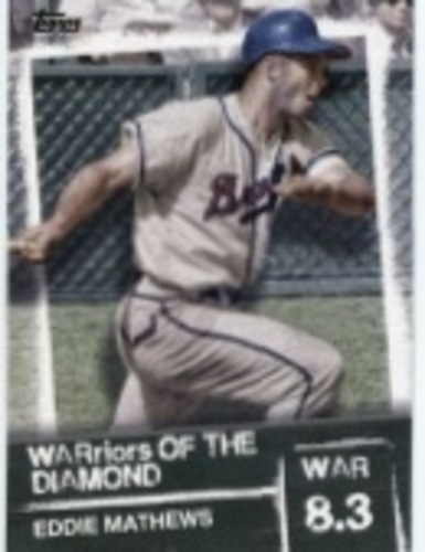 Photo of 2020 Topps Warriors of the Diamond #WOD46 Eddie Mathews