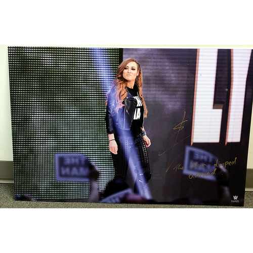 Photo of Becky Lynch SIGNED large photo print