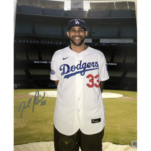 Photo of David Price Authentic Autographed Photograph