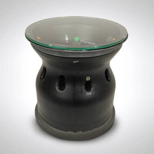 Photo of BWT Racing Point F1® Team Race-used 2015 Rear Wheel Rim Table