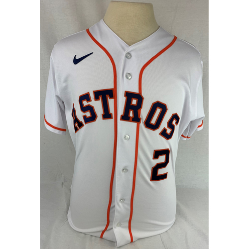 Photo of Alex Bregman Game-Used Jersey - 2020 Opening Day and 100th Career HR Game - Size 42T