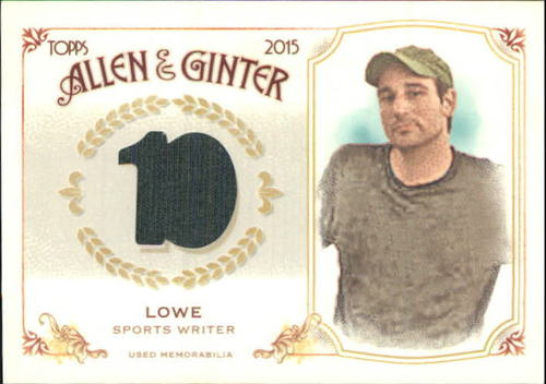 Photo of 2015 Topps Allen and Ginter Relics #FSRBZL Zach Lowe B