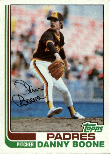 Photo of 1982 Topps #407 Danny Boone