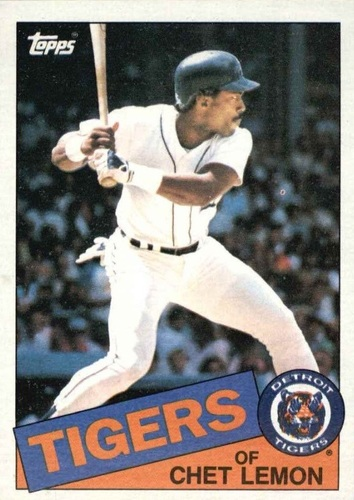 Photo of 1985 Topps #20 Chet Lemon