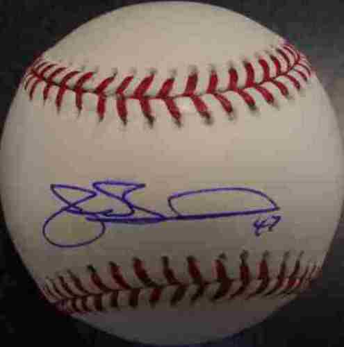 Photo of Joe Borowski Autographed Baseball